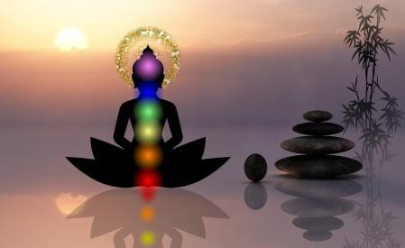 Chakras lotus centre chromotherapie luminotherapie cabinet hypnose mincir la rochelle